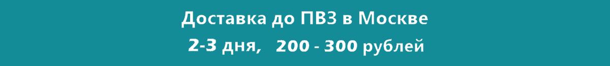 Доставка в Москве