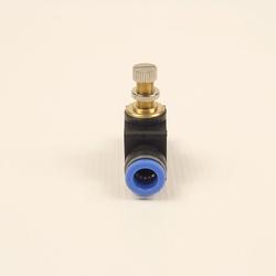 Кран игольчатый 10 мм, вид сбоку