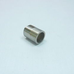 Ниппель приварной 1/2 дюйма, нар. резьба, 25 мм