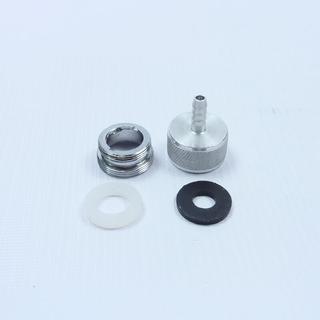 Дивертор на кран с переходником, 6 мм, компоненты