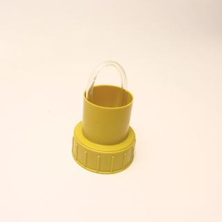 Гидрозатвор крышка для 22 л бутыли, желтая