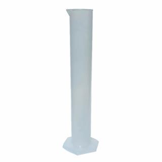 Мерный цилиндр, пластиковый, 500 мл