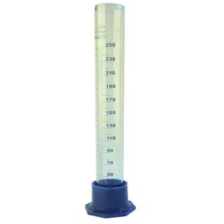 Мерный цилиндр стеклянный, 250 мл, Минимед