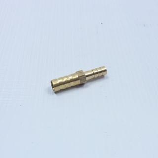Переходник для шланга латунный с 6 на 8 мм