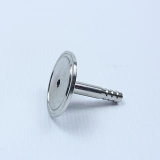 """Переходник кламп 1,5"""" - штуцер 10 мм, вид сбоку"""