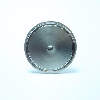 "Переходник кламп 2"" - штуцер 10 мм вид  снизу"