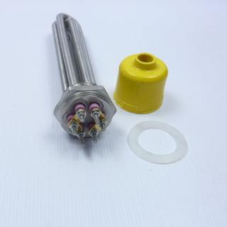 ТЭН, 3 кВт, DN40 (47 мм), основа сталь в разобранном виде