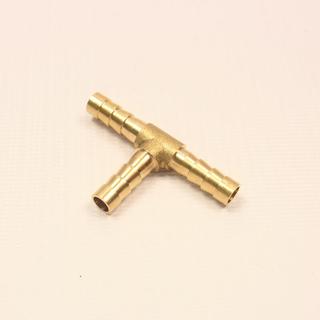 Тройник латунный на трубку 6 мм